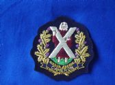 CAMERON HIGHLANDERS  BLAZER BADGE